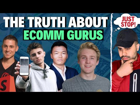 The REAL TRUTH About Your Favorite Dropshipping Gurus! (EXPOSED) thumbnail