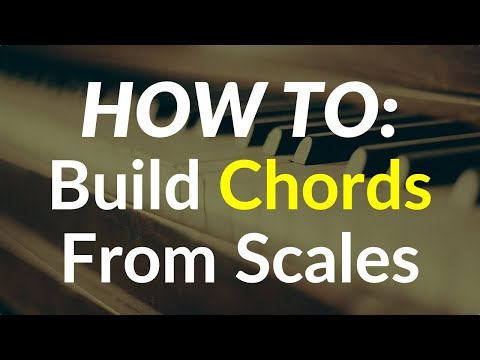 Intro To Music Theory - How To Construct Chords (Step By Step)
