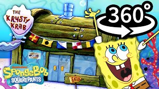 Go 360° Inside the Krusty Krab! 🍔 | Official SpongeBob VR Video