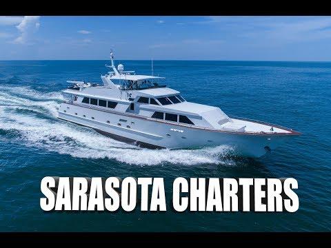 "100FT ""Center Ring"" - Sarasota Charters Commercial - Luxury Yacht Charters - Sarasota, FL [4K]"