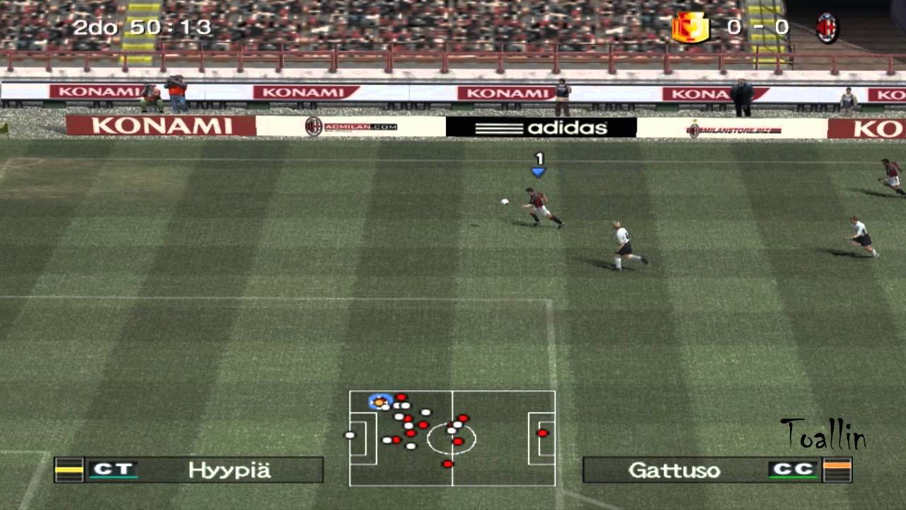 Pro Evolution Soccer 6 Gameplay (PC HD)