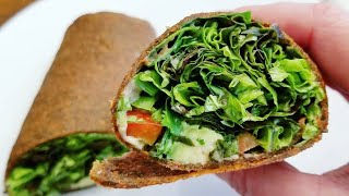 Raw Vegan Wraps!! What I Eat in a Day LFRV (Low Fat Raw Vegan)   Cultivator Kitchen