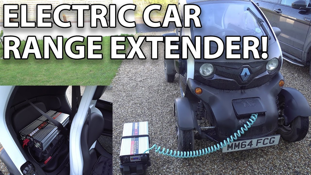 Electric Car Range Extender For Twizy And Other Small Ev S