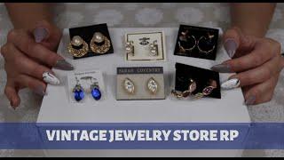 [ASMR] Vintage Jewelry Store RP