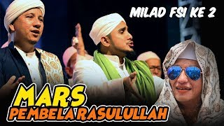 Merinding Habib Hanif Bawakan Mars Pembela Rasulullah Ciptaan Habib Bahar Milad Fsi Ke 2