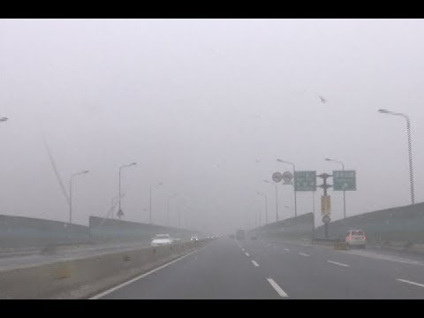 Heavy Fog Shrouds east China Cities, Forcing 100 Toll Stations to Close