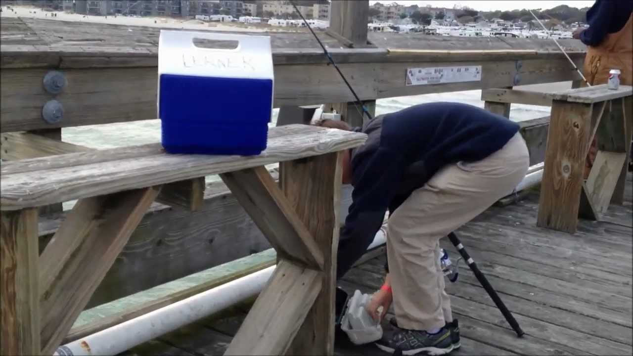 Surf and pier fishing myrtle beach sc youtube for Myrtle beach surf fishing