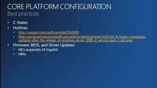 MMS 2012 Windows Server 2008 R2 Hyper V FAQs, Tips, and Tricks