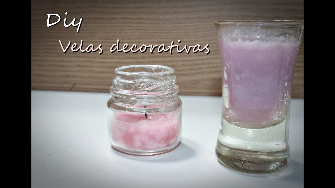 Como fazer velas decorativas youtube - Velas decorativas ...