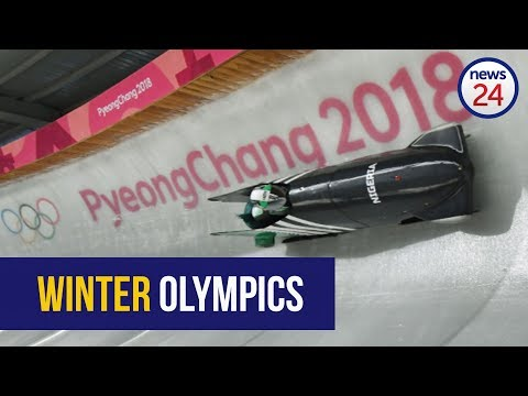 WATCH: Flying the African flag at the Winter Olympics