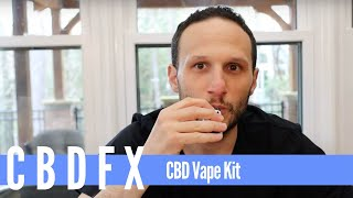 CBDfx Vape Kit: Unboxing, Filling The Cartridge, Battery, and Overall Score (2019 Review)