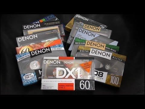 Denon Cassettes - Rare, expensive...and worth it!