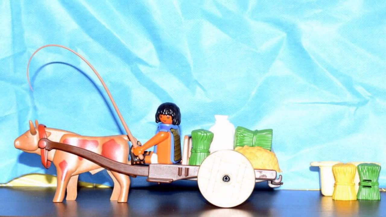 Playmobil egyptian wagon stop motion youtube - Playmobil egyptien ...