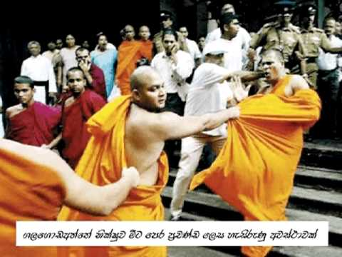 What's happening to buddhism in Sri Lanka -2