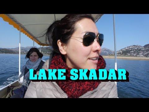 Lake Skadar in Montenegro!