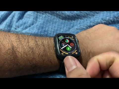 Apple Watch ECG/EKG Demo First look!!