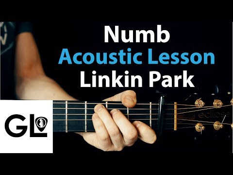 Numb - Linkin Park: Acoustic Guitar Lesson EASY
