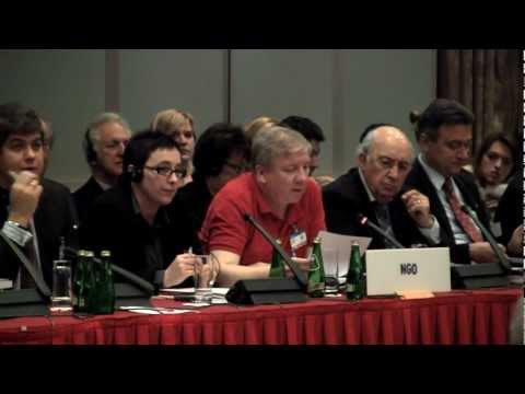 You have rights, your beliefs do not: Michael Nugent of Atheist Ireland at OSCE meeting in Poland