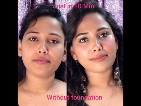 """""""NO MAKEUP"""" MAKEUP LOOK FOR COLLEGE/ OFFICE 