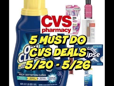 5 MUST DO CVS DEALS 5/20 - 5/26 ~ 🔥 Deals this Week!!!