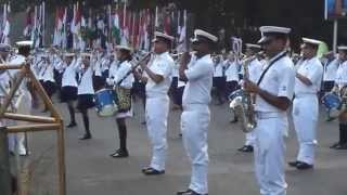 Indian Navy Band At GATEWAY OF INDIA, Mumbai