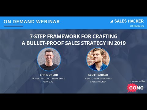 7-Step Framework for Crafting a Bullet-Proof Sales Strategy in 2019 Mp3