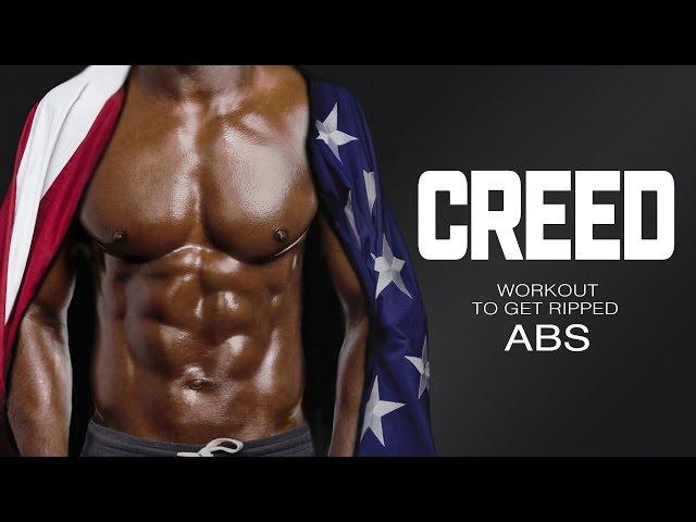 Creed-träningspass för att få Ribbade magmuskler