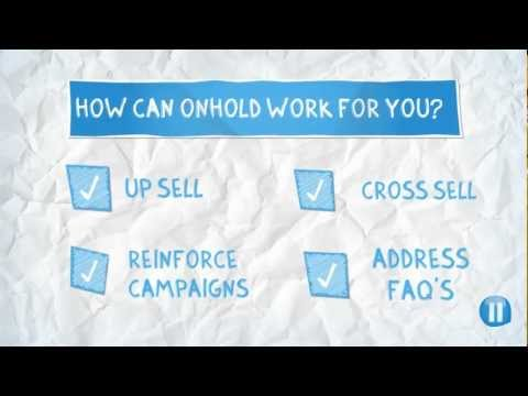 On-Hold Marketing - How it works