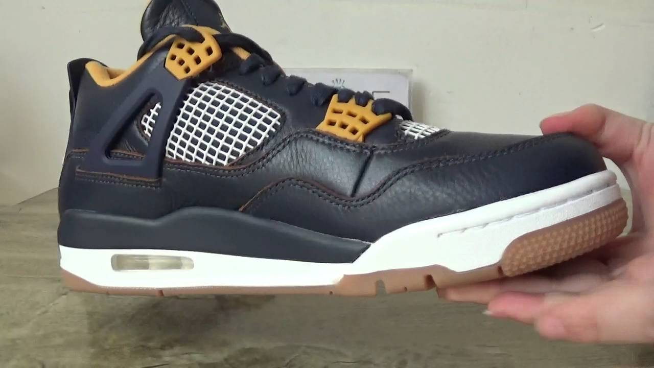 6d4c5dbcf94929 air jordan 4 dunk from above on feet review from DGSOLE.CN - YouTube