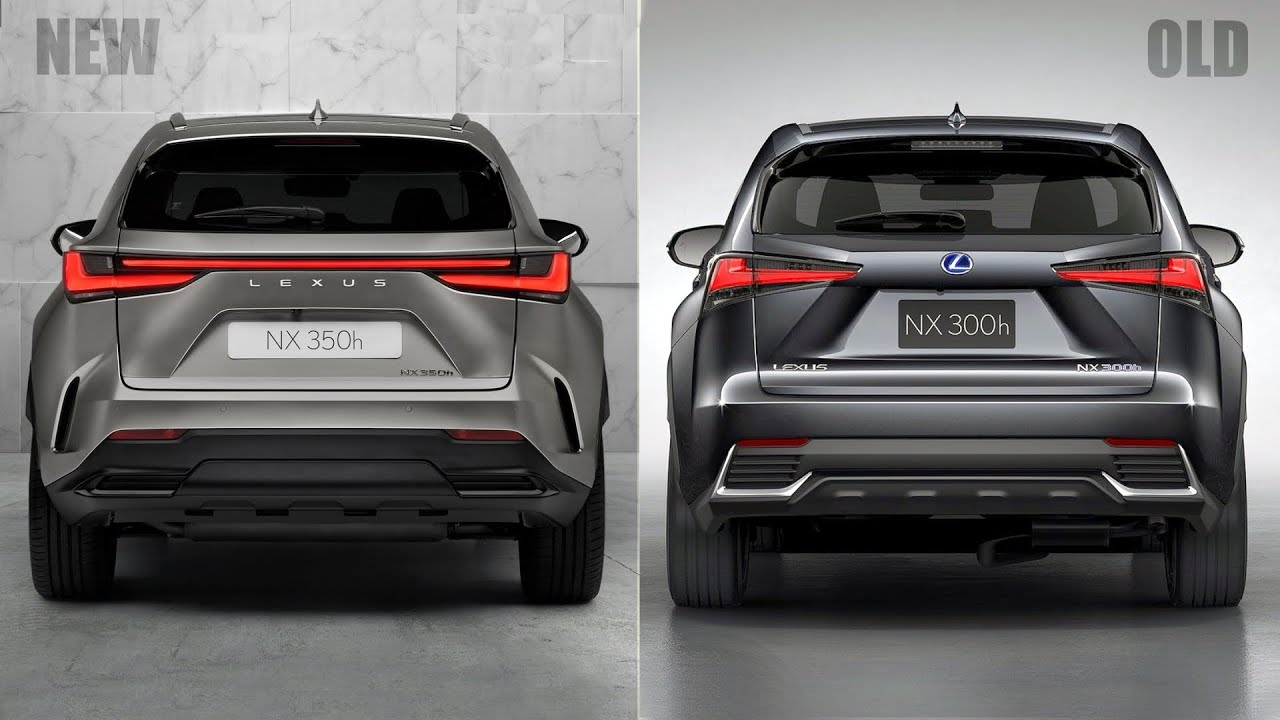 2022 Lexus NX vs Old Lexus NX - YouTube