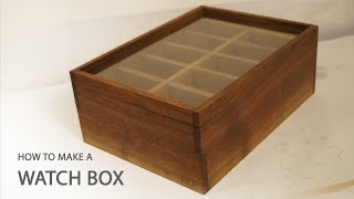 Music by: David Cutter Music - http://www.davidcuttermusic.co.uk. Buy a Handmade Watch Box - https://gum.co/GyZqu PDF and...