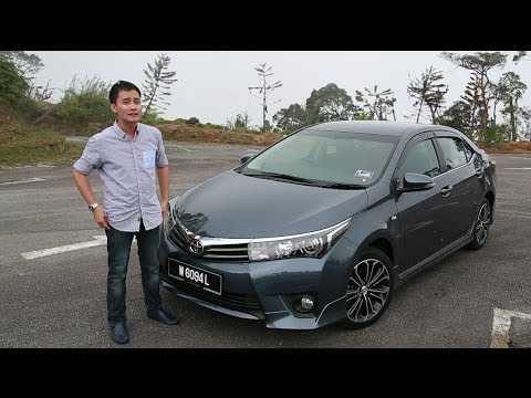 Toyota Corolla Altis 2 0v Review Autobuzz My Youtube