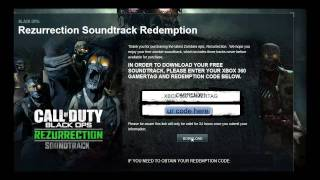 How to get your FREE zombie soundtrack