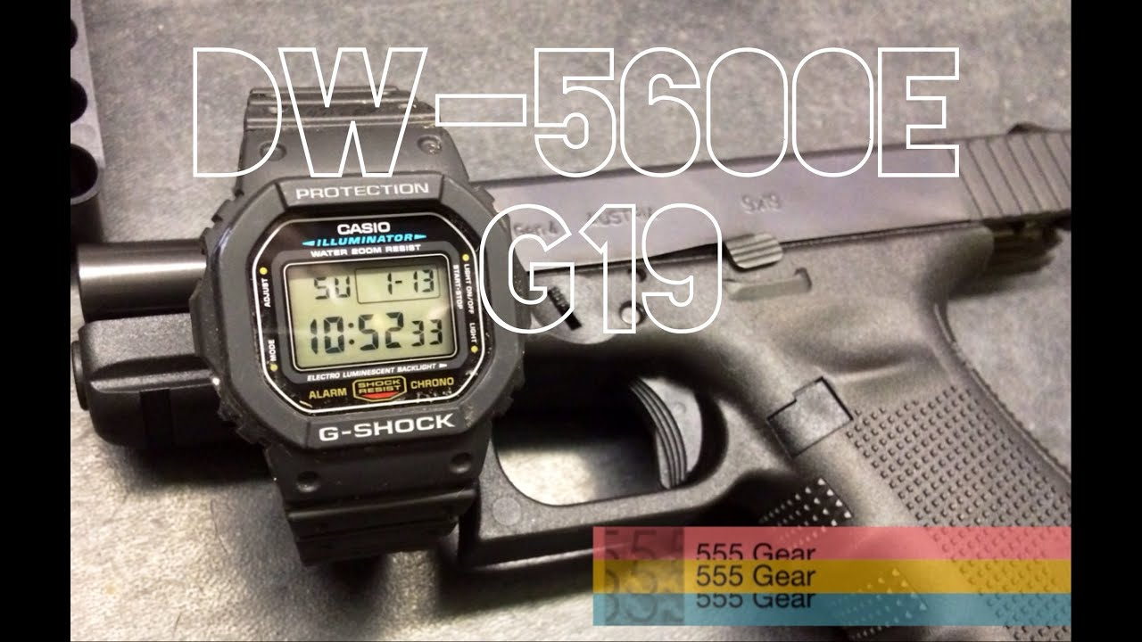 "Review & Torture Test: Casio DW-5600E G-Shock ""The Glock ..."