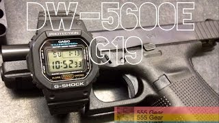 "Review & Torture Test: Casio DW-5600E G-Shock ""The Glock of Watches"""