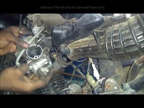 Carburettor Cleaning & Mileage Adjustment Part-1 I Tamil I MMI