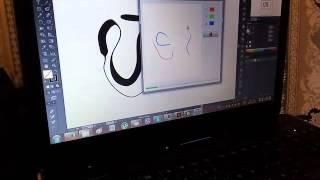 Налаштування натискання пера в Illustrator (Фотошопі) - Огляд планшета Huion 420