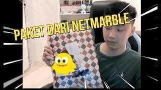 Paket dari Netmarble!! Apa ini?!