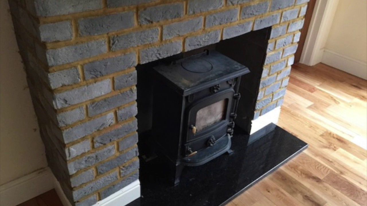 slate hearths for wood burners youtube