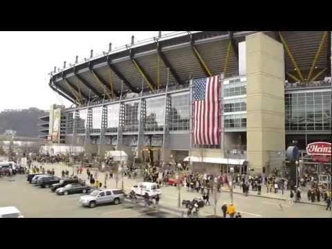 Steelers fans take the T to Heinz Field