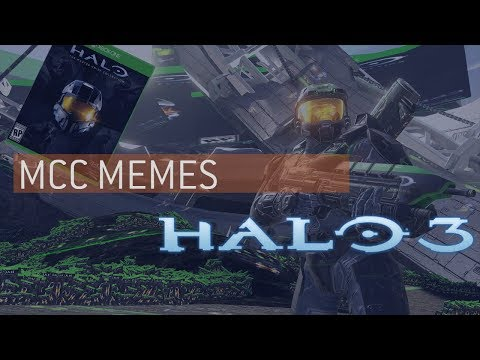 Halo 3 Except Every Texture Is The Master Chief Collection Box Art