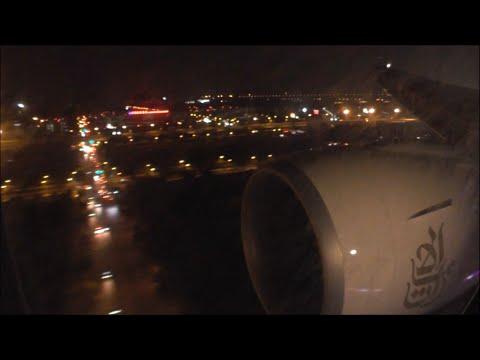 Fantastic Business Class Landing in Beijing on Emirates!!