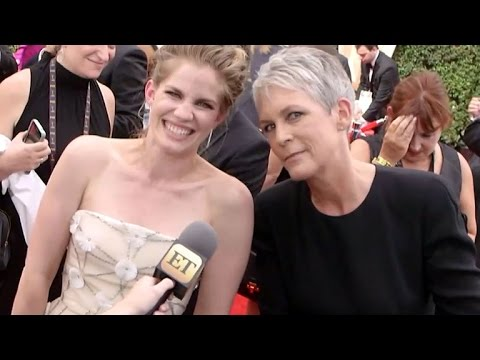 Jamie Lee Curtis and Anna Chlumsky Have 'My Girl' Reunion on Emmys Red Carpet!