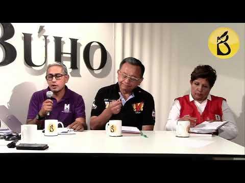 Café Electoral: José Núñez, Edgar Alarcón y Rosario Paredes