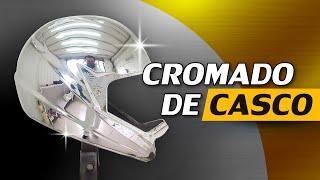 Download lagu Cromado de Casco de Motocicleta