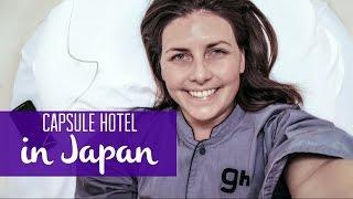Capsule Hotel in Japan (Narita Airport, Tokyo)