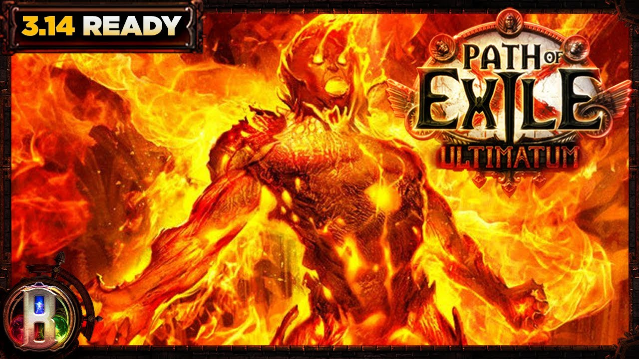 Path of Exile 3.11 - Low Life Righteous Fire Build - Trickster Shadow - PoE Harvest - PoE 3.11