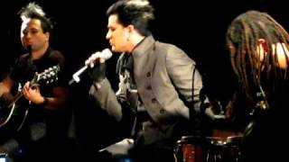 Adam Lambert Mad World Live Acoustic