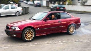 Чуть не РАЗБИЛ BMW, которую ДАРЮ ПОДПИСЧИКУ