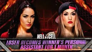 Brie Bella Vs Nikki Bella Stipulation - AJ Lee Vs Paige - Carmella Debut- TNA Havok- Total Diva Rule